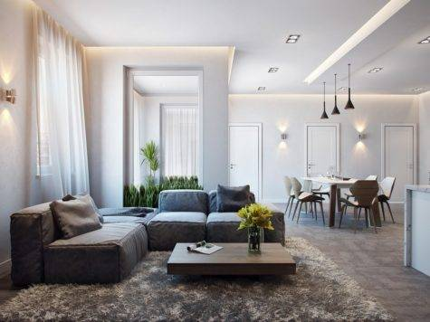 Modern Apartment Interior Design Ideas