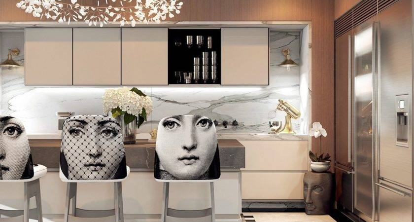 Modern Art Deco Home Visualized Two Styles