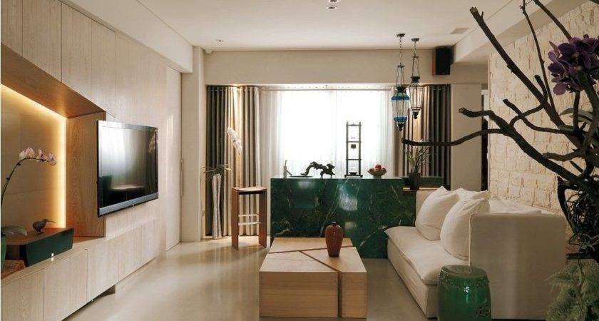 Modern Asian Minimalistic Apartment
