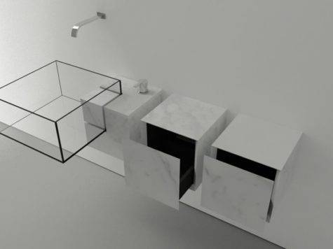 Modern Bath Design Minimalist Bathroom Sink Jim