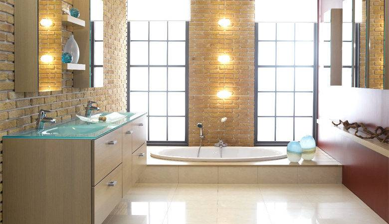 Modern Bathroom Designs Schmidt House Plans