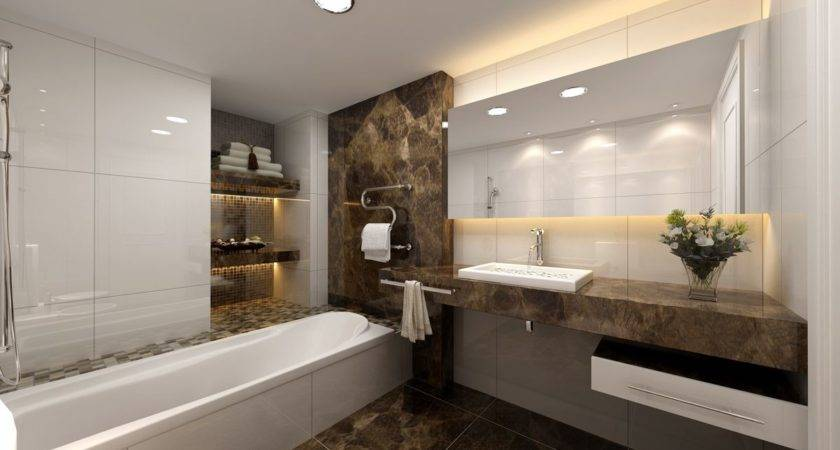 Modern Bathrooms Small Spaces