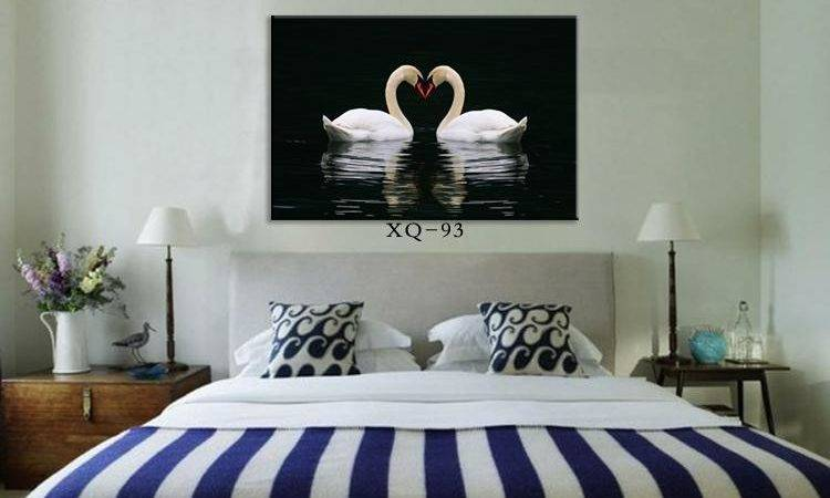 Modern Bedroom Wall Painting Home Decorative