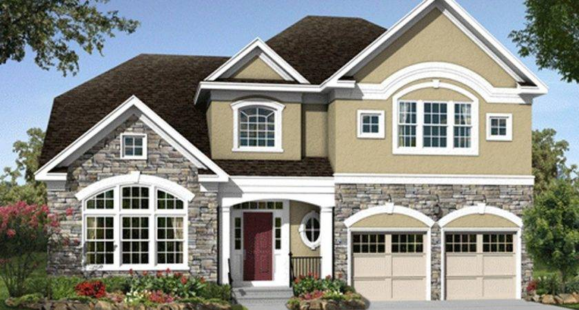 Modern Big Homes Exterior Designs New Jersey Home
