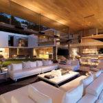 Modern Coastal House Living Room Interior Design Ideas