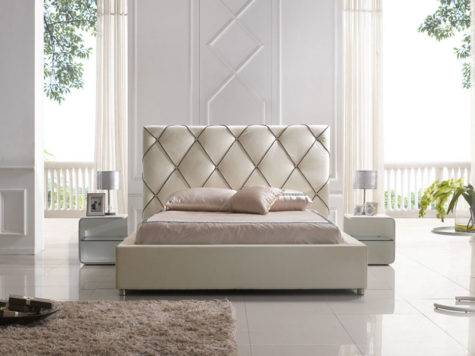 Modern Contemporary Platform Beds Headboard