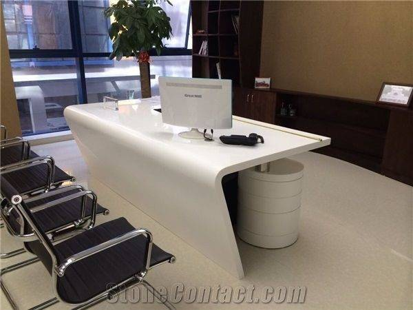 Modern Corian Office Table Design Google Search