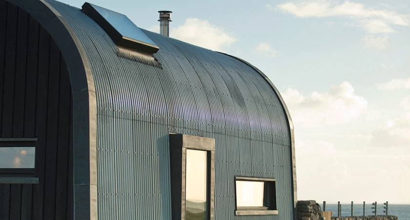 Modern Curved Roof House Cottage Like Addition