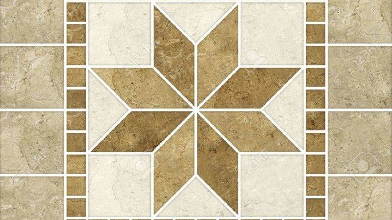Modern Design Composite Marble Patterns Puzzle