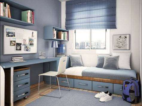 Modern Design Teenage Boys Room Ideas