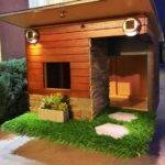 Modern Dog House Anacustompethouses Etsy