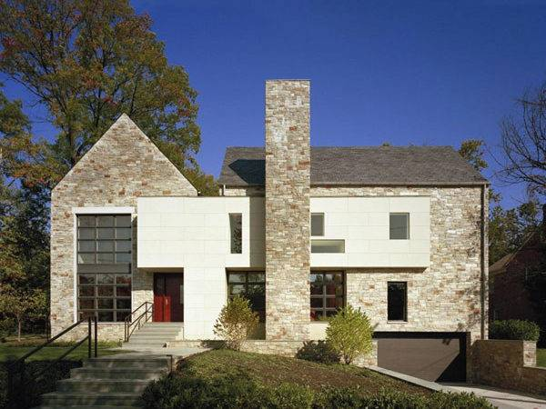 Modern Edgemoor Residence Adapted Traditional