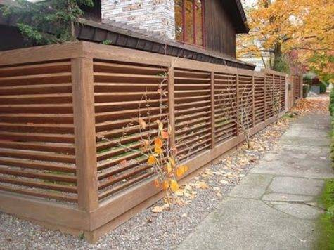 Modern Fence Ideas