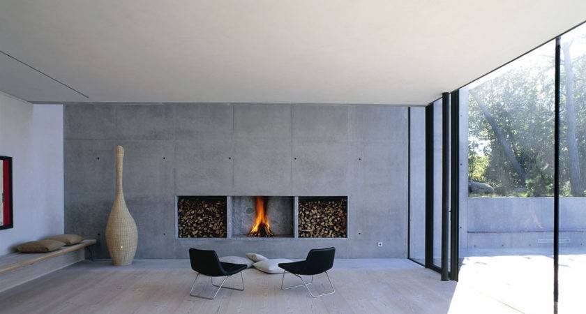 Modern Fireplace Design Interior Ideas