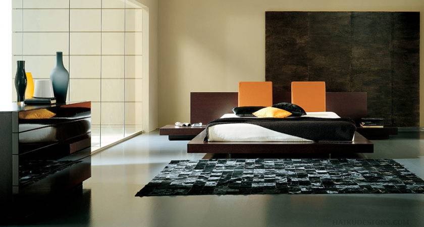 Modern Furniture Asian Contemporary Bedroom
