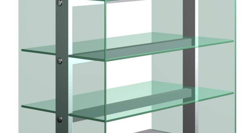 Modern Glass Bookcase Buy