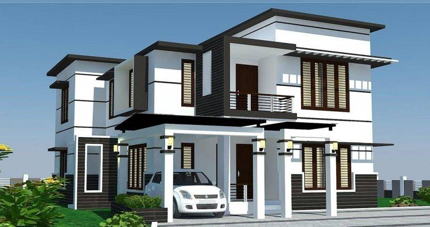 Modern Home Designs Awesome House Green