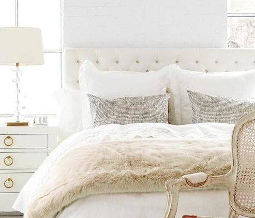 Modern Ideas White Bedroom Decorating