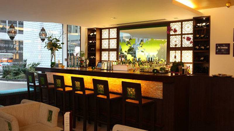 Modern Indian Upscale Restaurant Interior Design Tulsi
