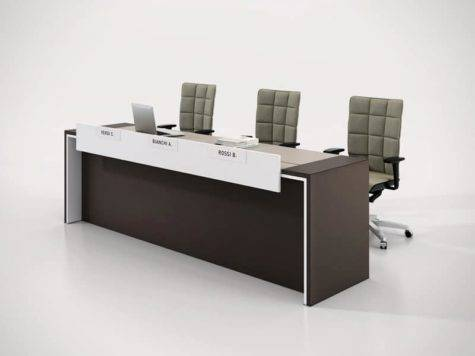 Modern Interior Office Desk Design