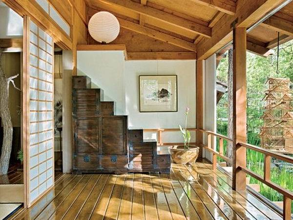 Modern Interior Traditional Japanese House Bedroom