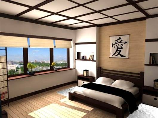 Modern Japanese Bedroom Indelink