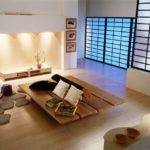 Modern Japanese Living Room Designs