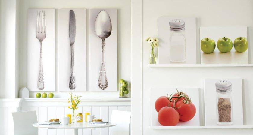 Modern Kitchen Wall Art Decoration