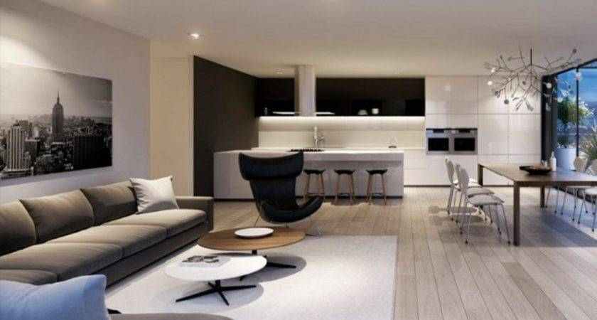 Modern Living Room Design Stylish Apartment Ideas
