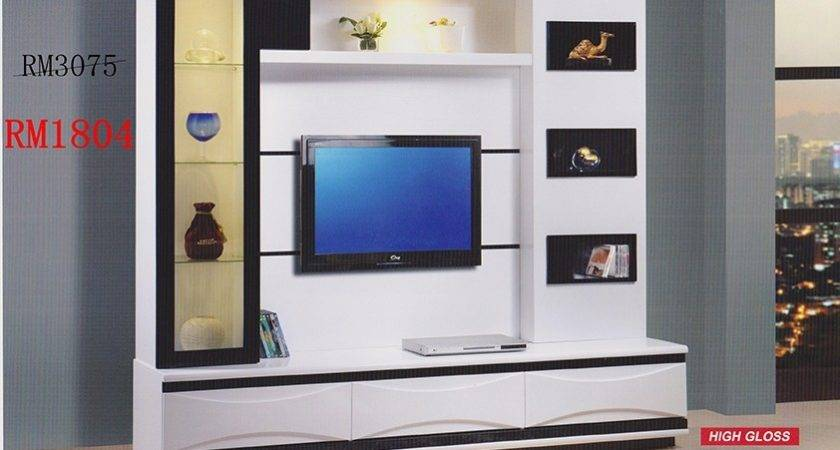 Modern Living Room Lcd Cabinet Design Ipc