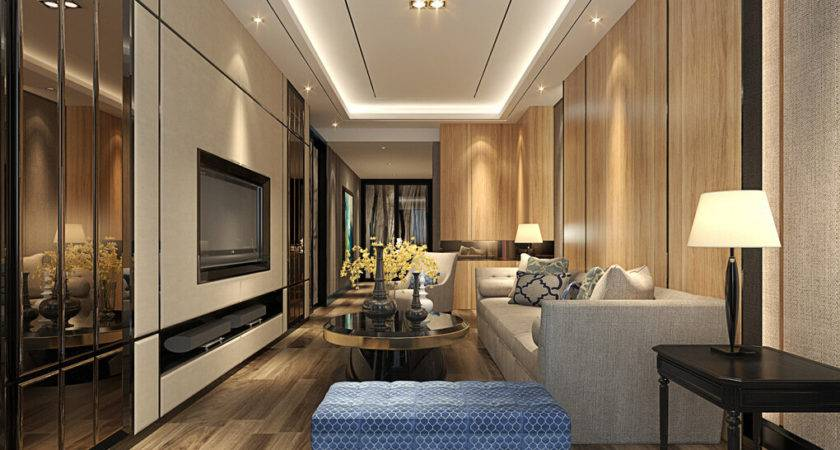 Modern Living Room Lighting House