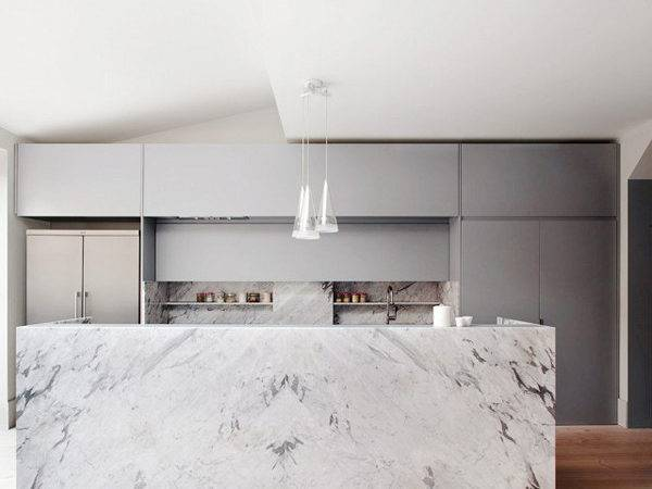 Modern London Kitchens Marble Accents