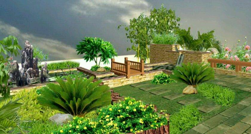Modern Luxury Homes Beautiful Garden Designs Ideas New