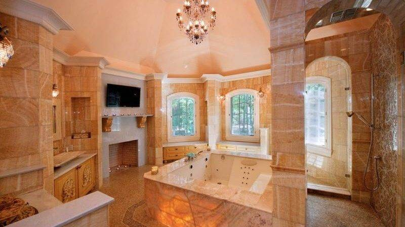 Modern Mansion Master Bathrooms Home Design Jobs