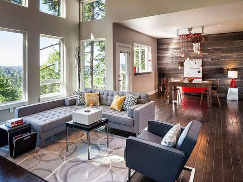 Modern Meets Rustic Revealing Special Eclectic Cor