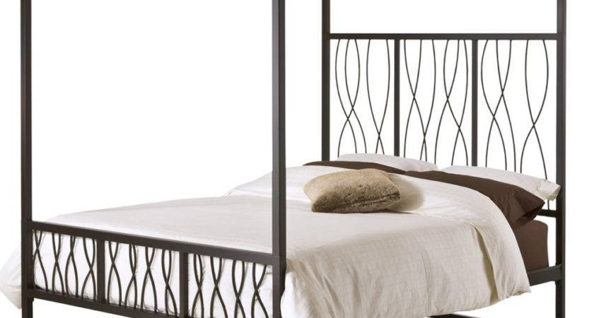 Modern Metal Canopy Bed