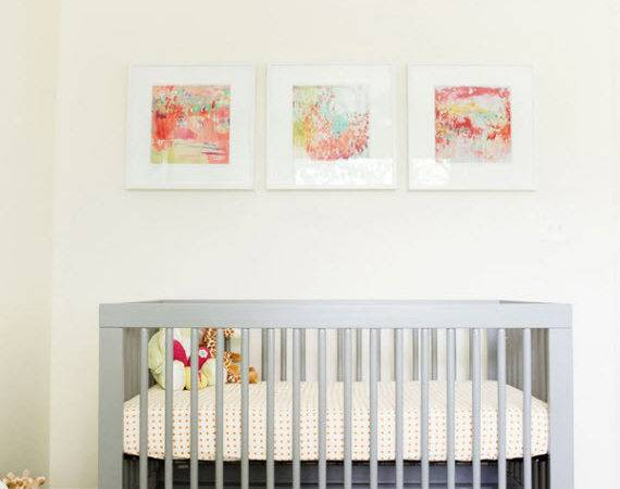 Modern Nursery Design Get Look Simplified Bee