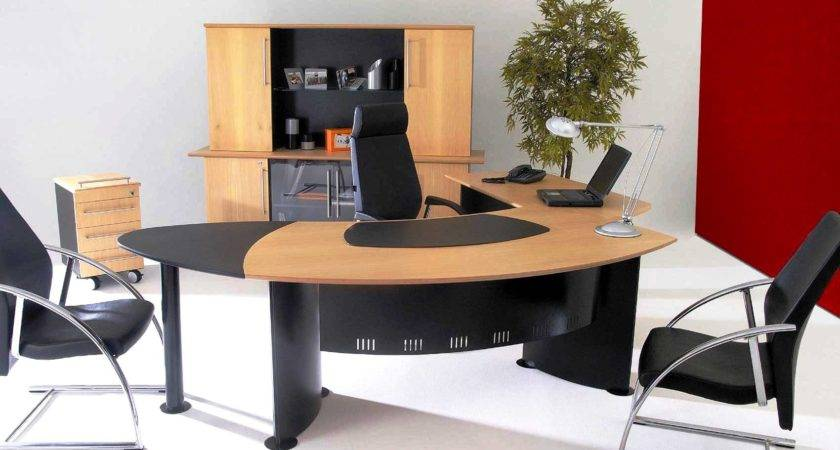 Modern Office Desks Small Spaces
