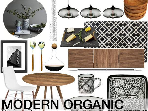 Modern Organic Dining Room Polyvore