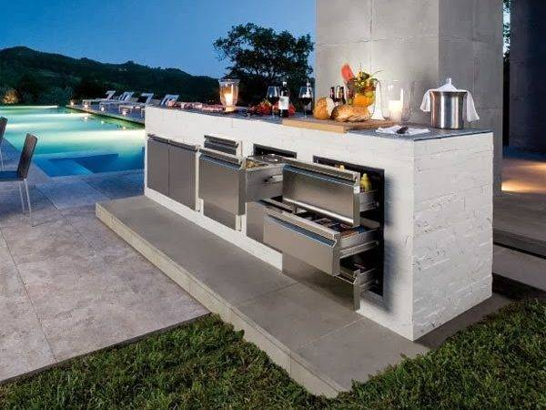 Modern Outdoor Kitchen Design Minimalist House Home