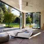 Modern Pool House Sonoma Design