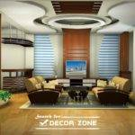 Modern Pop False Ceiling Designs Living Room