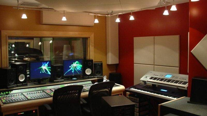 Modern Recording Studio Decorating Ideas Home Interior