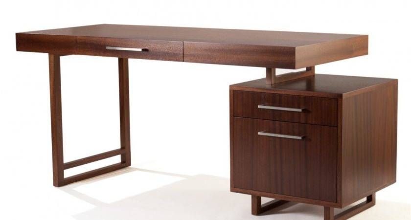 Modern Simple Desk Desks Small Spaces Chair Office