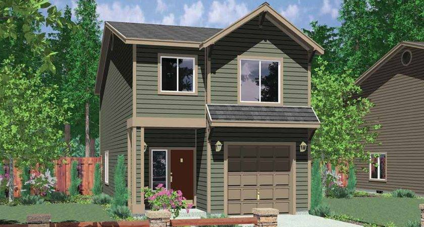 Modern Small House Plans Narrow Lots Best Design