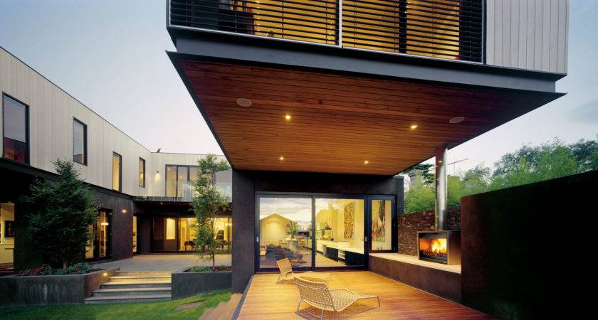 Modern Terrace Design Contemporary House Floating