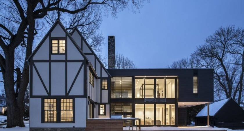 Modern Tudor Homes Give Your Jaw Wide Open