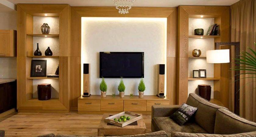Modern Wall Cabinets Living Room Mounted
