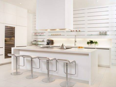 Modern White Kitchens Exemplify Refinement