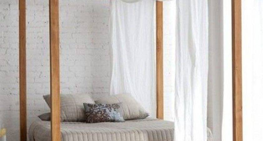 Modern White Sheer Window Valance Canopy Bed Curtain Scarf